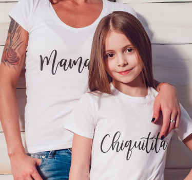 Add this mother and daughter t shirt  to your shopping cart to buy it online and receive it in a few days! Home delivery !