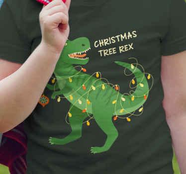 """Veldig kul og moderne """"tree rex"""" morsom småbarnsskjorte kjøp din nå! Og vi vil sende den til stedet du forteller oss! Rabatter tilgjengelig."""