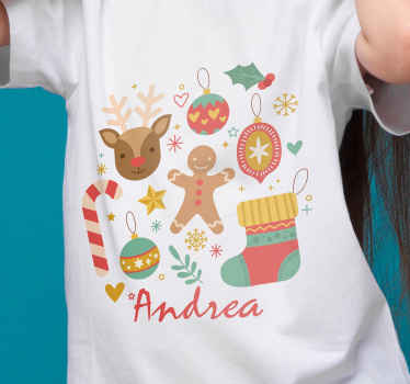 Do you want to give your kids a cute Christmas t-shirt? Then you found the right product! Don't wait any longer and order now!