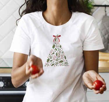 ¿Qué mejor regalo para ti o para algo que conoces que esta camiseta navideña de árbol? Entrega a domicilio para este producto hoy!