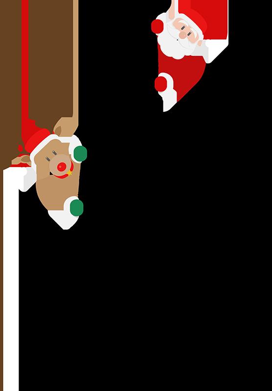 TenVinilo. Camiseta de Navidad I Love Santa. Una camiseta navideña de santa claus estupenda para vestir en festividades y fechas especiales No dudes en comprar este diseño en Tenvinilo