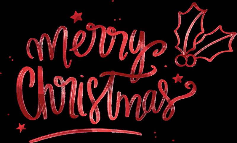 """TenVinilo. Camiseta de Navidad feliz navidad con acebo. Feliz navidad diseño de camiseta de navidad para mujeres con la frase """"merry christmas"""" y una planta de acebo ¡Envío a domicilio!"""