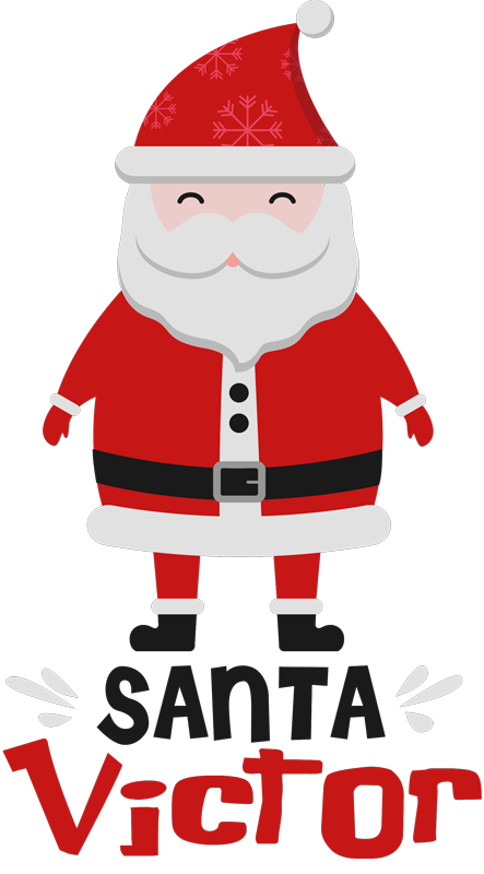 TenStickers. Santa Claus and HoHoHo Christmas  t-shirt. Santa Claus HoHoHo Christmas shirt.  You would want to appear as a Santa Claus in Christmas with his iconic hilarious ''hohoho'' laughter.