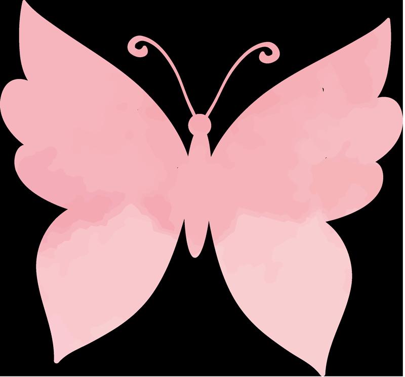 TenStickers. Roza metulji ženska majica. Visokokakovostna ženska priložnostna majica, ki jo lahko kadar koli prosite. Zasnovan je s čudovitimi odtisi metuljev in je prilagodljiv v drugih barvah.