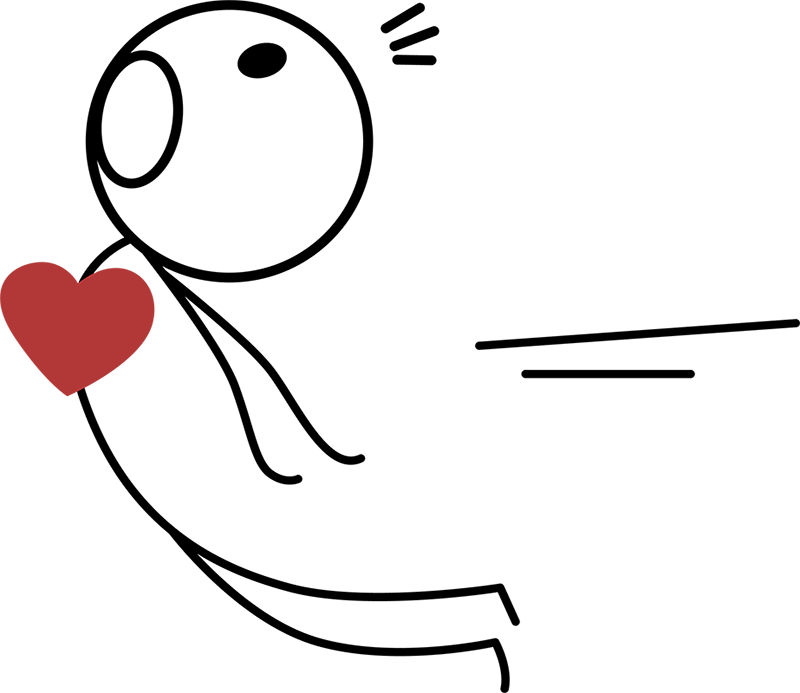 TenVinilo. Camisetas para parejas imán corazón. Estupenda camiseta para parejas muy enamoradas compuesta por un imán y un corazón que se atraen a través de dos muñecos. Original y Divertida