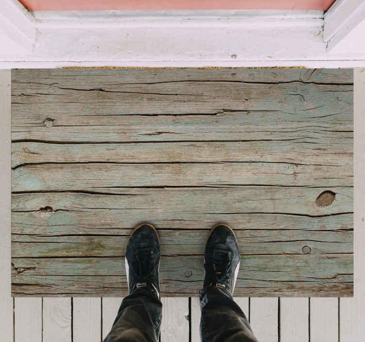 TenStickers. Piso de vinil com efeito de madeira e madeira contaminada. Este deslumbrante tapete de vinil de madeira contaminada representa a melhor solução para a sua casa! Confie na qualidade do nosso material agora!