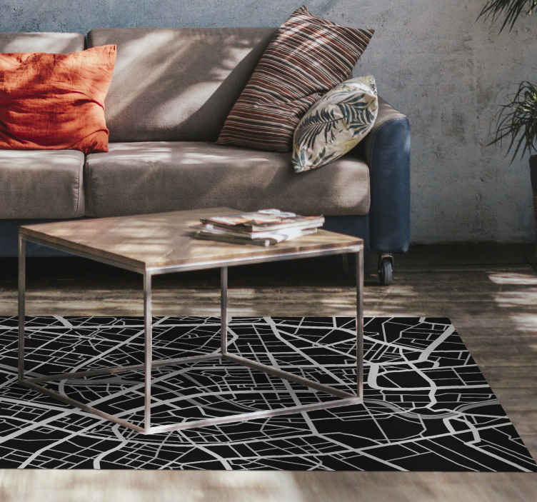 TenStickers. Travel vinyl map rug. Amazing vinyl rug Travel. This stunning vinyl rug feature is perfect.  This elegant design will really please everyone who comes to your home!