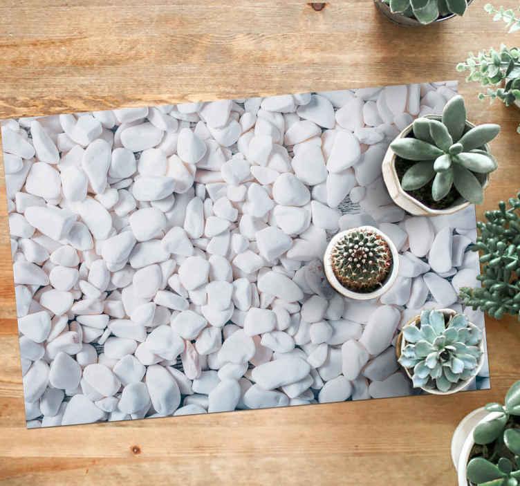 Tenstickers. Textur 3d-effekt stengolv. Fin textur 3 d effekt gråmönster vinylmatta. Det rektangulära golvet i entrén är perfekt för ditt hem eller din inomhusdesign.