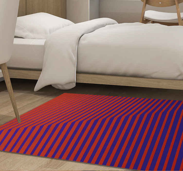 TenStickers. Abstract Gradient contemporary rugs. You can buy this funky striped sticker rug online from us in any size you need. You can add it to the cart.  Home delivery !