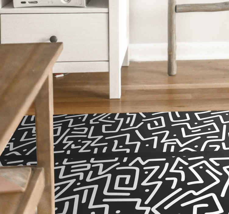 TenStickers. Abstract streaks contemporary rugs. Abstract streaks modern rug. This rug design would suit for any space in a house. It is original and highly durable. Easy to maintain and durable.