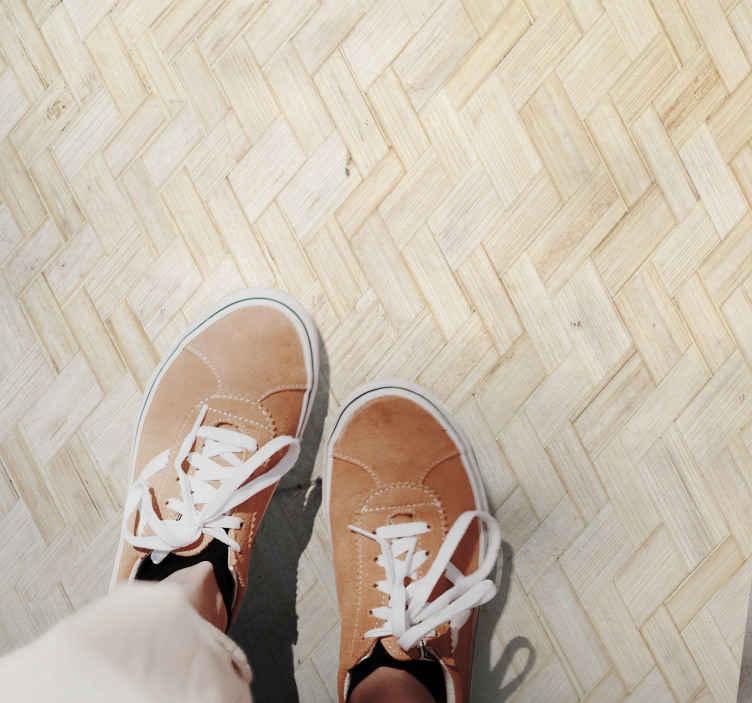 TenStickers. Bruine textuur patroon vinyl tapijt . Bent u op zoek naar een manier om uw kind of vriend te verrassen met een origineel vinyl vloerkleed met subtiele textuur, vinyl vloerkleed op maat gemaakt.