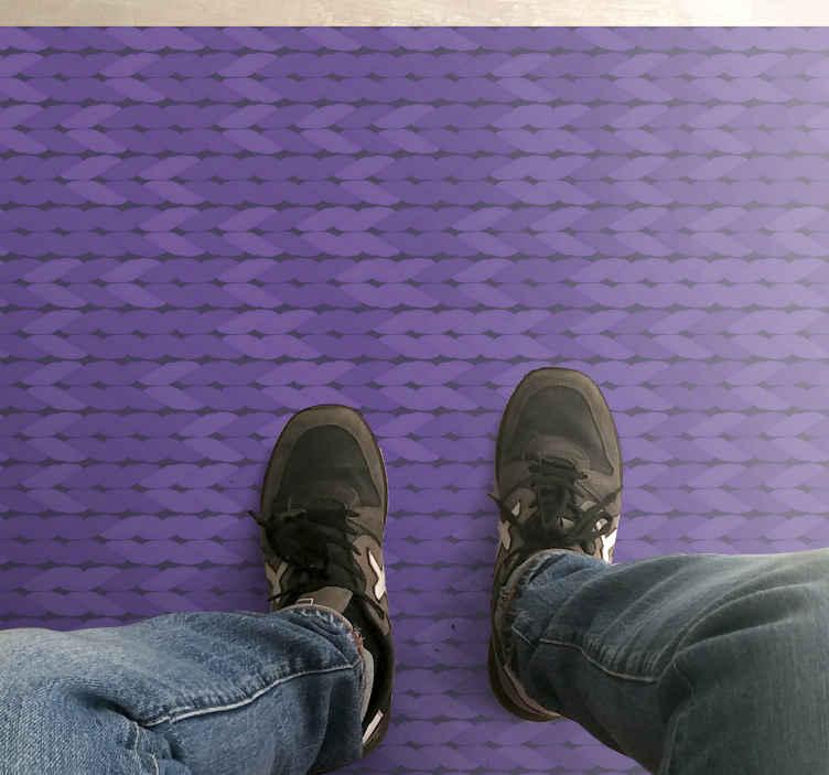 TenVinilo. Alfombra vinílica cocina cuerdas lilas. Esta alfombra vinílica cocina de cuerdas lilas será ideal para que decores tu casa con tu color favorito ¡Descuentos disponibles!