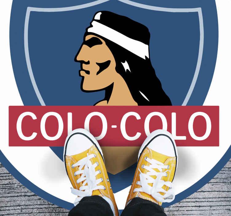 TenVinilo. Alfombra vinilo juvenil equipo Colo. Hermosa alfombra vinilo juvenil del club de fútbol Colo para decorar cualquier lugar del hogar. Es duradera y original ¡Envío exprés!