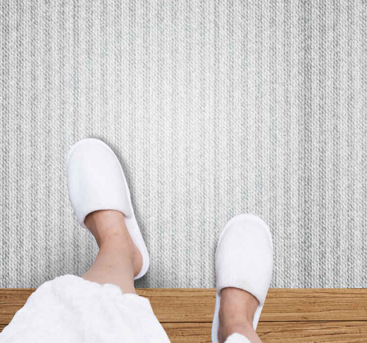 TenStickers. Gray ropes texture rug. Decorate your house with this amazing gray ropes texture vinyl flooring. Buy this amazing bedroom carpet now! Your friends and family will love it!
