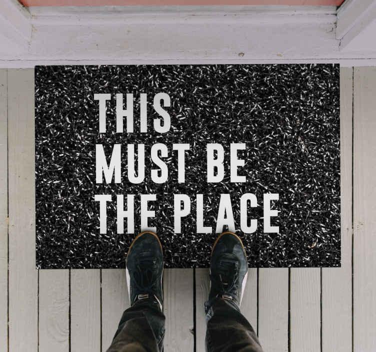 TenVinilo. Alfombra vinilo recibidor lugar a visitar. Hágales saber a todos que este lugar es el lugar donde deben estar con su nueva alfombra vinilo recibidor ¡Descuentos disponibles!