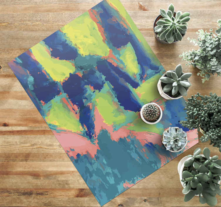 TenStickers. Fabric texture Rug contemporary rugs. Texture vinyl carpet with the illustration of abstract textures perfect for you to decorate your living room, dining room, kitchen, or any other space
