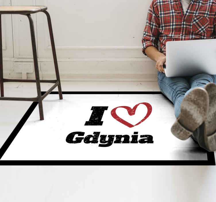 TenStickers. 我爱格丁尼亚定制地毯. 简单但舒缓,我喜欢格丁尼亚定制的乙烯基地毯,可在任何空间上营造出可爱的外观。易于维护,耐用,并可以根据需要提供任何尺寸。