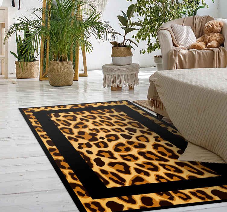TenVinilo. Alfombra vinilo animal print tigre clásico. ¡Alfombra vinilo animal print rectangular de piel de leopardo es la compra perfecta que estamos seguros de que te encantará! ¡Envío exprés!