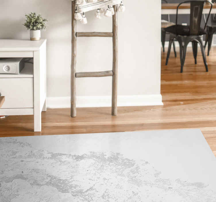 TenStickers. Gray pantone texture texture vinyl rug. Gray pantone texture texture carpet - It is original, durable and easy to maintain. It can be washed, brushed, swept and moped without problem.