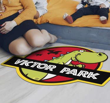 原始的儿童乙烯地毯,上面有一个名字,您可以用它来装饰设计自己的孩子的房间!提供折扣。