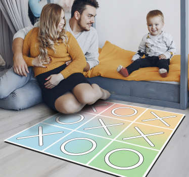 Rectangular vinyl play mat for children to have an original and unique decoration With this design you are going to surprise everyone!