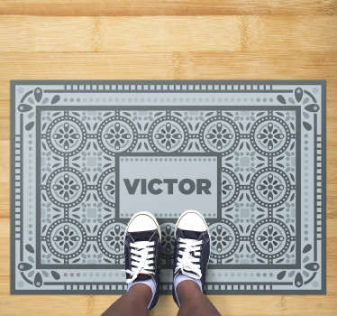 Everyone who likes Barcelona can now have a little piece of it in their house Panot Barcelona vinyl carpet to decorate any room!