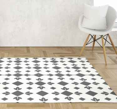Enhance your dinning room space in our original vinyl carpet tile pattern for a dinning room space. It is easy to use and maintain.