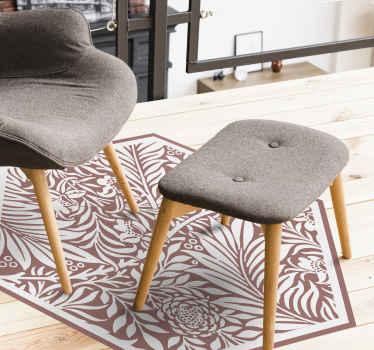 Admire a beleza única deste incrível piso de vinil moderno com ornamento cinza! é feito com material de alta qualidade.