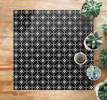 An amazing flower tiles floral carpet for your home.  It can be cleaned, brushed and washed. Add it to your cart now to purchase it online!