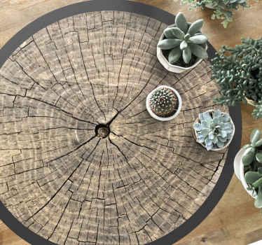 Vinyl teppich mit holzstruktur, perfekte dekoration für Ihre küche oder Ihr schlafzimmer. Hergestellt aus hochwertigem vinyl, hochbeständig und leicht zu lagern.