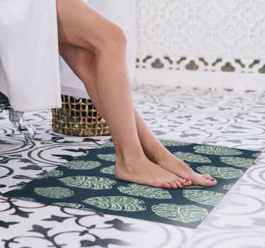 Flower up your room with your new nature vinyl runner rug! You won't regret buying this vinyl rug. So don't wait any longer and order it now!