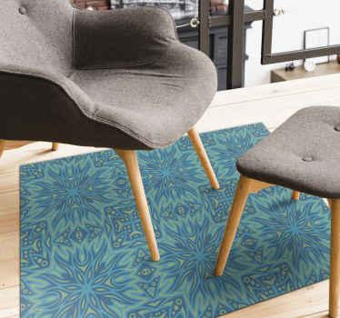 Un tappeto in vinile adatto all'ingresso. Può anche essere posizionato in un altro spazio dove ritieni che si adatti meglio a te. Realizzato con la migliore qualità e di facile manutenzione.