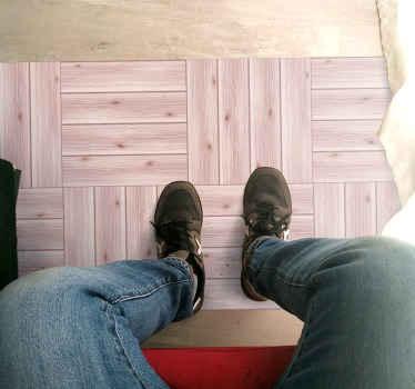розовый виниловый коврик с текстурой дерева украсит любое пространство вашего дома. очень стойкий и качественный продукт. продукт по всему миру!