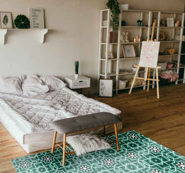 Vidunderligt og flot køkken vinyl tæppe med mønster tæppe er en perfekt løsning til køkkenet, fordi det er så praktisk. Køb det nu.