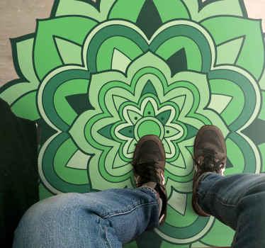Speciale fantasygreen mandala, design colorato. Si presenta con i disegni del quadro originale, perfetto per arredare la tua casa