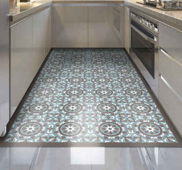 This stunning kitchen vinyl flooring represents the best solution for bringing in your house something really unique and beautiful!