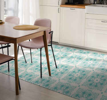 Bring some patterns into your life with one of these fantastic original vinyl rugs! So don't wait any longer and order your new vinyl rug now!