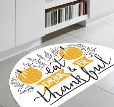 La manera perfecta de mantener su cocina hermosa y con una decoración maravillosa es con esta alfombra vinílica cocina Halloween ¡Envío exprés!