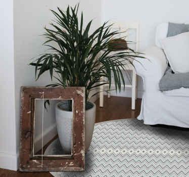 Original alfombra vinilo nórdica de rayas grises para que decores de forma original tu casa. Elige las medidas que desees ¡Envío exprés!
