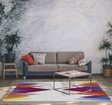 ¿Eres amante de los coloridos diseños nórdicos y no has tenido suerte en encontrar una alfombra vinílica nórdica original? ¡Aquí la tienes!