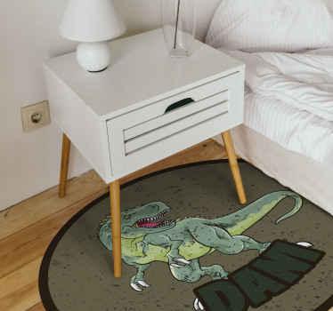 Dit gepersonaliseerde vinyl tapijt is het perfecte cadeau voor de ruimte van uw kind, kies voor een van onze gepersonaliseerde vinyl tapijten! Levering aan huis!