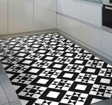 Unglaublicher teppich mit geometrischen mustern, der den böden in Ihrem Zuhause charakter verleiht. Rabatte heute auf unserer Website verfügbar.
