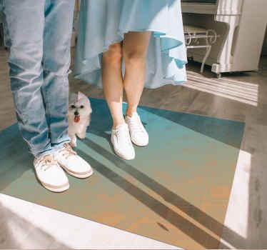 Krásný podlahový vinylový koberec vhodný k dekoraci a živé podlahové ploše v domě nebo v kanceláři. Je originální, odolný a snadno se čistí.