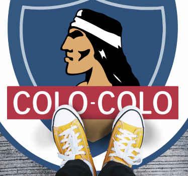 Hermosa alfombra vinilo juvenil del club de fútbol Colo para decorar cualquier lugar del hogar. Es duradera y original ¡Envío exprés!
