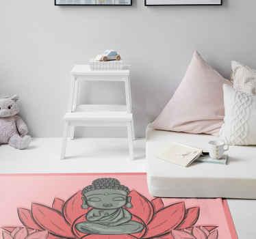 Pokud jste milovníky buddhistické kultury nebo milujete lotosové květy, proč si nedat nějaké z obou! Objednejte si tento krásný design ještě dnes!