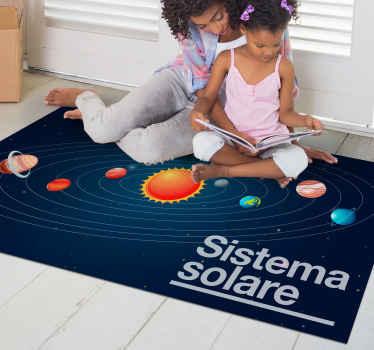 Spazio infinito e sistema solare, niente è più magnifico della bellezza della nostra costellazione, ordina subito la consegna a domicilio!