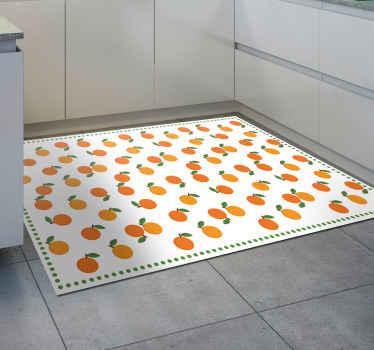 ¡Pida hoy esta alfombra vinilo cocina de naranjas y sorpréndase con su alta calidad! Se puede lavar y limpiar fácilmente ¡Envío gratuito disponible!