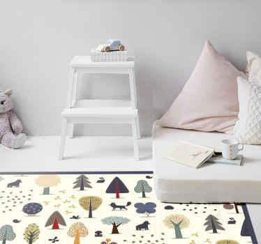 Aquí tenemos una increíble alfombra vinilo nórdica que se vería hermosa en su habitación. ¡Agréguela a su carrito ahora para comprarla en línea!
