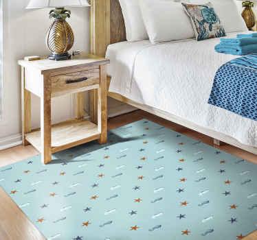 ¿Qué mejor regalo para ti o para algo que conoces que esta exclusiva alfombra vinilo animales de vinilo marino? ¡Envío exprés!