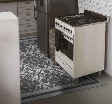 Breng dit tijdloze beija-tegeltapijt met klassiek design naar jouw interieur. Het tapijt zou een originele klassieke toets aan uw ruimte geven.